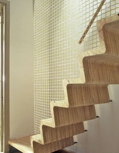 Escalier design escamotable colima on ext rieur tournant bois b tonprot - Escalier colimacon design ...