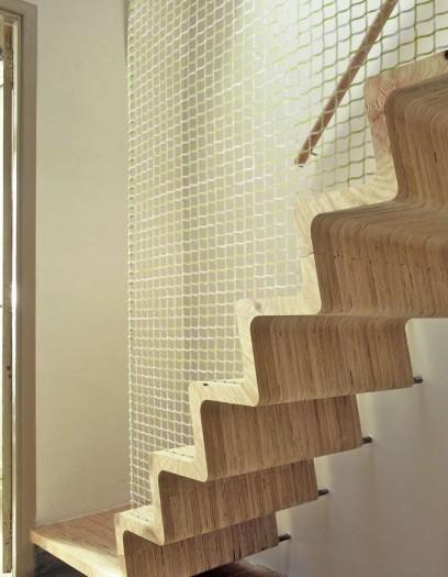 Escalier design escamotable colima on ext rieur tournant bois b tonprotectis habitat - Poser un escalier en colimacon ...