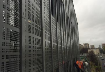 Bardage Aluminium – Chantier Paris 12eme